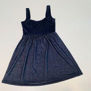 BeBop Dresses - 👻 Denim Look Stretchy Tank Top Blue Medium A72